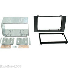 CT23FD05 FORD MONDEO MK3 2004 to 2007 DARK GREY DOUBLE DIN FASCIA ADAPTER PANEL