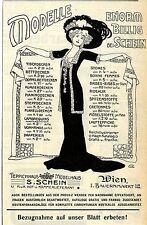 S.Schein Wien Teppich- u. Möbelhaus K.u.K. Hoflieferant Historische Werbung 1910