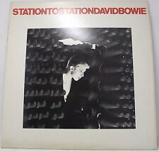 "DAVID BOWIE : STATION TO STATION Vinyl LP Album 33rpm 12"" with Insert Excellent"