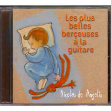 CD Nicolas De ANGELIS les plus belles berceuses à la guitare NEW SEALED RARE