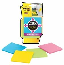 """Post-it Super Sticky Adhesive Note - Self-adhesive - 3"""" X 3"""" - Bright Assorted -"""