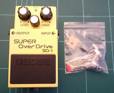 "BOSS Overdrive sd-1 ""SUPER TUBE SCREAMER"" Mod Kit"