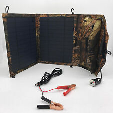 Solar 12v 10w battery Charger Portable Panel Battery Power Usb Car Boat