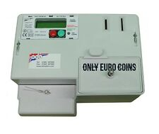 RDL M101E DUAL COIN EURO  €1 & €2 DIGITAL PREPAYMENT ELECTRIC METER EURO 100AMP