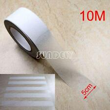 "2"" x 10m Transparent Anti Slip Tape Grit Non-Skid Stair Bathroom Self Adhesive"