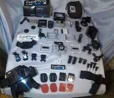 # 56 GoPro HD Hero2 + WiFi Combo + Unruly Headgear & Lots of Extras