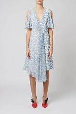 Unique Topshop Floral Silk Dress New From Selfridges LAST CHANCE TO BUY IT