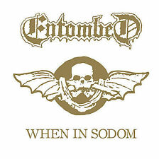 FREE US SH (int'l sh=$0-$3) NEW CD Entombed: When in Sodom