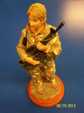 On Assignment Army Female Vanmark American Heroes Military Collectible Figurine