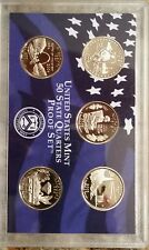 2003-S United States Quarter 5-Coin CLAD Proof Set, U.S. Mint