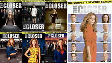 The Closer ~ Complete Series ~ Season 1-7 (1 2 3 4 5 6 & 7) ~ BRAND NEW DVD