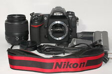 Nikon D300 12.3 MP Digital SRL Camera w/AF-S DX NIKOR 18-55mm VR & Strap f/Japan