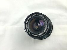 VIVITAR 28mm f2.0 MC CLOSE FOCUS Wide Angle Lens.
