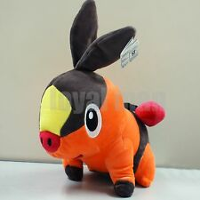 "12"" Pokemon Tepig Stuffed Animal Nintendo Game ポカブ Pokabu Plush SOFE Toy US ship"