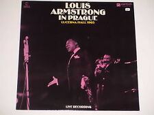 LOUIS ARMSTRONG  -In Prague Lucerna Hall 1965 (Live Recording)- LP