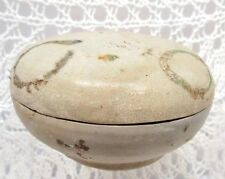 CHINESE BEAUTIFUL 16TH CENTURY LATE MING PERIOD COVERED BOX - SHIP WRECK