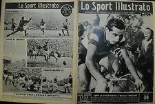 LO SPORT ILLUSTRATO N° 43/ 27.OTT:1949  COPPI HA FESTEGGIATO LA MAGLIA TRICOLORE