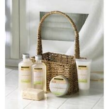 ECO BALANCE Bath Spa Collection Kit Woven Basket Valentine Gift Girl friend Her