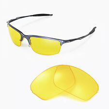 New Walleva Yellow Replacement Lenses For Oakley Half Wire 2.0 Sunglasses