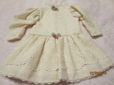HAND-CRAFTED LACE DRESS FOR ANTIQUE FRENCH BRU JUMEAU VINTAGE