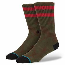NEW STANCE SOCKS NINJA M310C14NIN GRN | GREEN Mens Size Large / XL 9-13