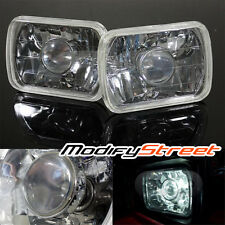 7x6 H6014/H6052/H6054 DIAMOND CUT SEMI SEALED PROJECTOR HEADLIGHTS HEADLAMPS