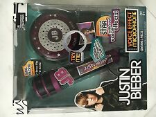 Justin bieber voice effect microphone with real amplifier sing along w/ songs
