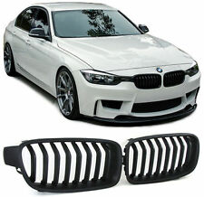 FRONT GRILLS BLACK FOR BMW F30 F31 from 2011 SERIES 3 SPOILER BODY KIT NEW
