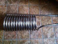 Wärmetauscher,Edelstahl Teichheizer, Heizspirale kühlspirale destielle Rohr 15mm
