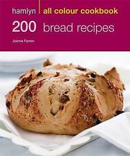 Hamlyn 200 Bread Recipes (All colour cookbook) - New Book