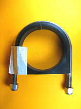 """McMaster -  3176T19 -  SS Vibration Damping Clamp U Bolt 1/2""""-13 Thread for 4""""OD"""