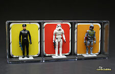 Star Wars Vintage Action Figure Display Stand - Holds 3 Figures!