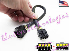 "➨➨➨ 12"" Female 8-Pin to 8-Pin ATX 12v Motherboard CPU Power Extension Cable ➨➨➨"