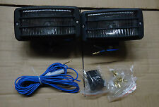 2PC FOG/DRIVING/WORKING LIGHTS FOR RV/TRAILER/ATV/TRACTOR/FORKLIFT W/STONE GUARD