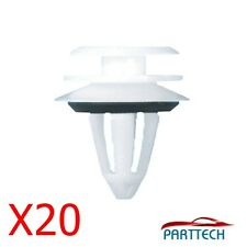 x20 BMW INTERIOR DOOR CARD PANEL TRIM CLIPS E34 E36 E38 E39 E46 WHITE.