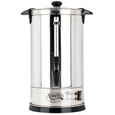 55 Cup Stainless Steel Coffee Urn Maker Brewer 1.9 Gallon Home Business Church