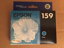 Genuine EPSON 159 Ink Cartridge Cyan T159220 Stylus Photo R2000 T159