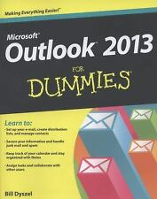 Outlook 2013 for Dummies by Bill Dyszel (2013, Paperback)