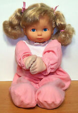 "Cititoy 15"" Vinyl & Cloth Doll - Says ""Now I Lay Me Down To Sleep"" - VGC"