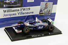 Rare 1/43 Williams FW19 Jacques Villeneuve Editore SOL90 Barcelona Spain