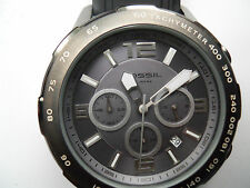 Fossil chronograph mens silicon rubber band,Analog & battery watch.Ch-2531