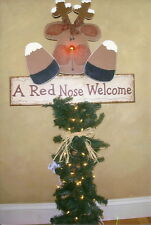 "HOLIDAY/CHRISTMAS PRIMITIVE WOOD CRAFT PATTERN-""RANDI""-54"" TALL PORCH GREETER"