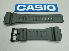 Genuine Casio AQ-S810W-3 dark green resin rubber watch band strap 18mm lug