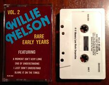Willie Nelson Rare Early Years Vol. 2 Cassette