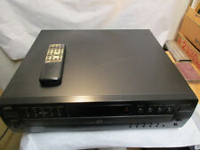 2000 JVC XL-FZ258BK Compact 5-Disc CD Player w Remote & Automatic Changer Digita
