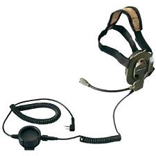 Tactical military headset BOW M-TACTICAL K for Kenwood Wouxun Puxing Fdc Hyc New