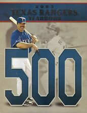 Rafael Palmeiro--2003 Texas Rangers Yearbook