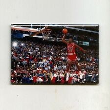 MICHAEL JORDAN / DUNK CONTEST - MINI POSTER FRIDGE MAGNET nike costacos air 1988