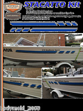 "Quintrex Freedom Boat Decals and Graphics ""STACATTO Kit"