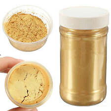 Gold 100g 400Grit Glitter Pearl Pigment Powder Metal Sparkle Shimmer Paint New